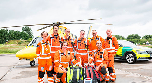 GRANT FROM THE WPH CHARITABLE TRUST HELPS WPH KEEPS AIR AMBULANCE IN THE SKIES